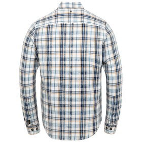 Long Sleeve Shirt Denim Check Fab