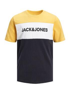 T-Shirt mit Colour-Blocking