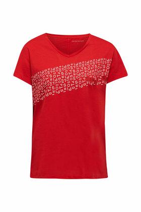 Jersey-Shirt mit Logo-Print