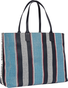 ICONIC TOMMY TOTE STRIPES