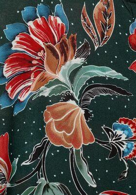 Midikleid mit Blumenmuster