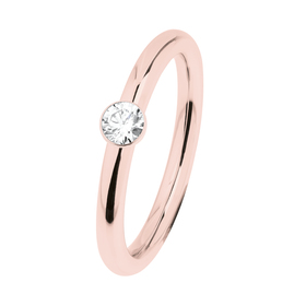 "Ring ""Stahl R467.WH"", Gr. 58"