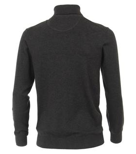 Rollkragen-Pullover unifarben
