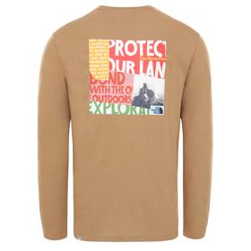 Graphic Langarmshirt
