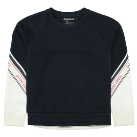 Sweatshirt mit Ärmel-Wording