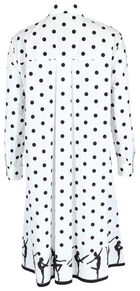 Kleid mit Punktedruck