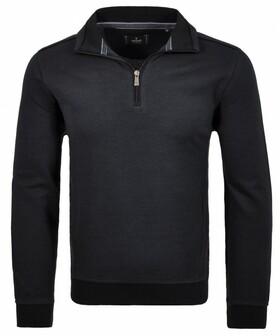 Sweatshirt mit Troyer