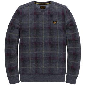 Sweatshirt mit Karomuster