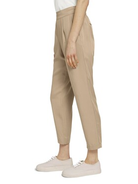 Weiche Tapered Stoffhose