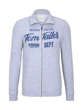 sweat jacket with print