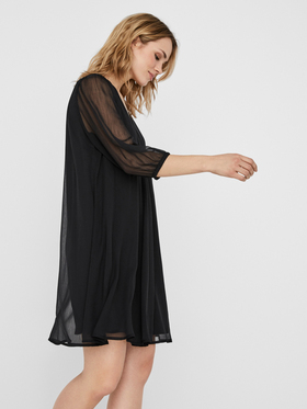 VMFALLON 3/4 SHORT DRESS WVN