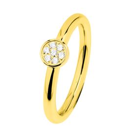 "Ring ""Stahl R457.WH"", Gr. 58"