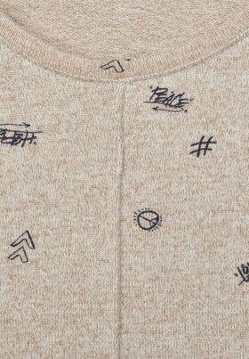 Shirt mit Minimal Muster