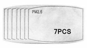 Fashion Mask PM 2.5 Einlage-Filter 7er Pack