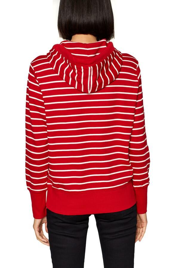 SG-019CC1J019       sweatshirt sol-HIBISCUS RED