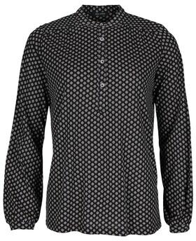 Gemusterte Jersey-Bluse