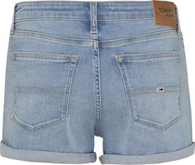 Baumwoll-Jeans-Shorts mit Fade-Effekt