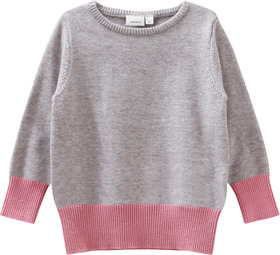 Pullover in Color-Blocking Optik