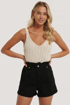 Paperwaist Shorts