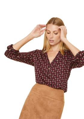 Modal-Bluse