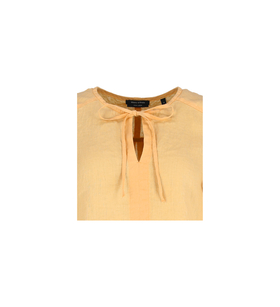 Tunika-Bluse aus reinem Leinen
