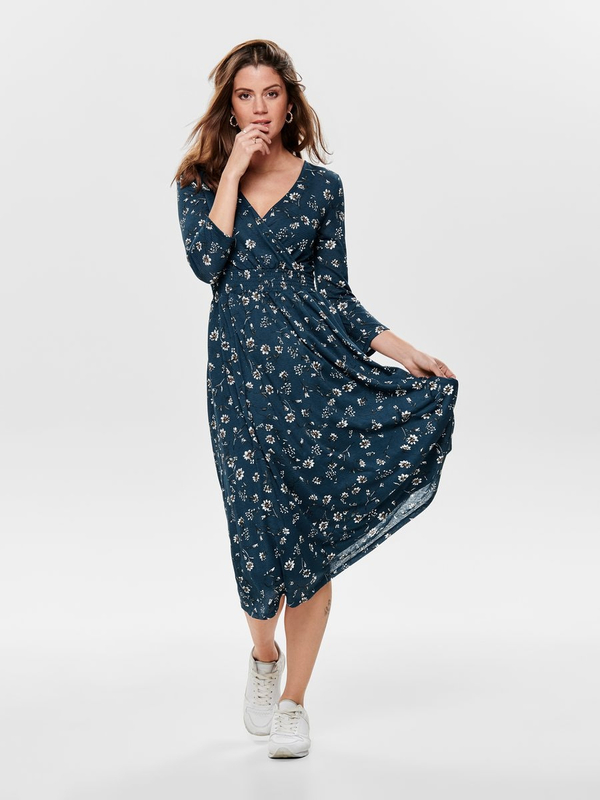 Blumenprint Kleid