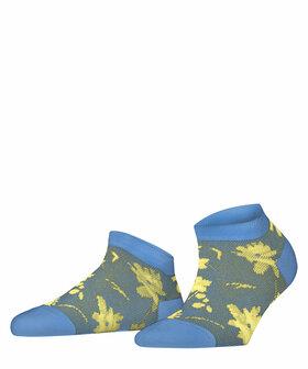 Sneakersocken mit Blumen-Muster