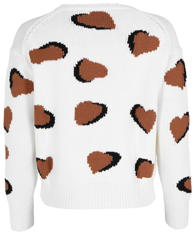 Pullover mit Heart-Motiven