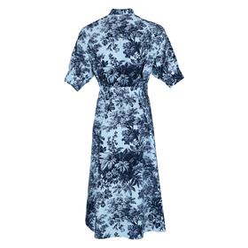 Print-Kleid aus Baumwolle
