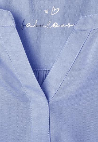Bluse mit gerafftem Saum