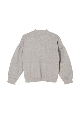 Sweatshirt mit Rollkragen