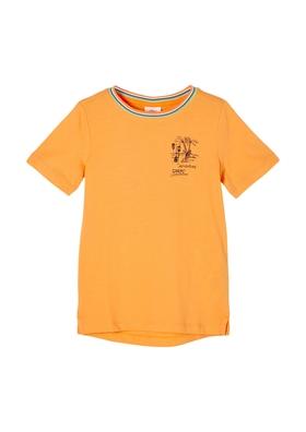 T-Shirt mit Rückenprint