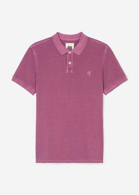 Polo, short sleeve, button placket,