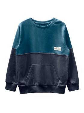 "Color Block Sweatshirt ""Valdor"""