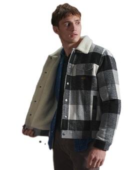 Highwayman Wool Sherpa Trucker