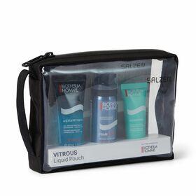 Transparente Reißverschlusstasche