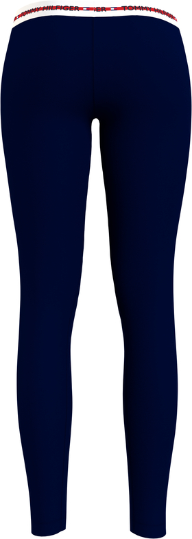 Leggings mit Logomuster am Taillenbund