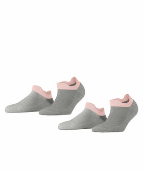 Sneakersocken Cushioned Sporty 2-Pack
