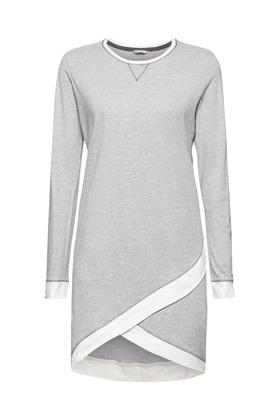 Jersey-Nachthemd mit Bio-Baumwolle