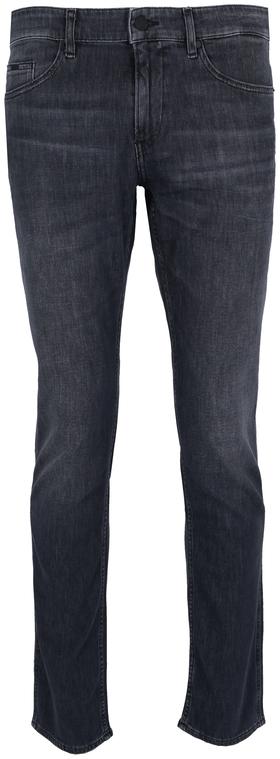 Slim-Fit-Jeans aus leichtem grauem Comfort-Stretch-Denim