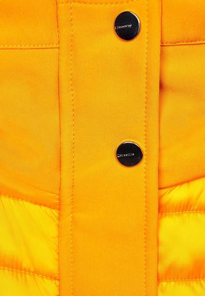 Wattierte lange Jacke