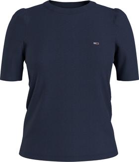Slim Fit Rüschen-T-Shirt