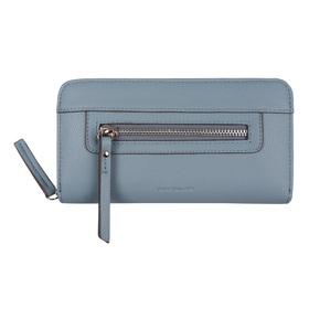 Ariane, Geldbörse mit Reißverschluss, L, Blau