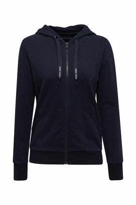 Zipper-Cardigan aus Organic Cotton