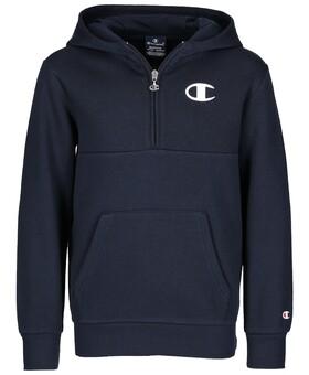 Sweatshirt mit Half Zip