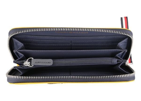Große Varsity-Brieftasche im Farbblockdesign