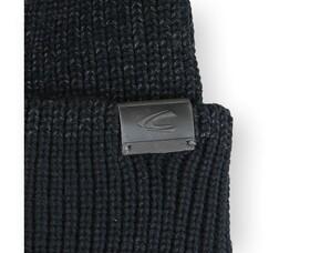 Beidseitig tragbare Strickmütze aus Baumwoll-Mix