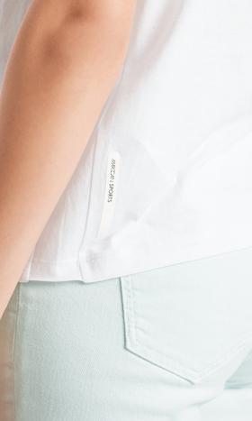Shirt mit irisierenden Pailletten