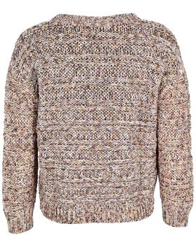 Pullover in Spray-Print-Optik