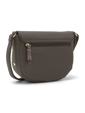 ESTA Flap bag, snake brown